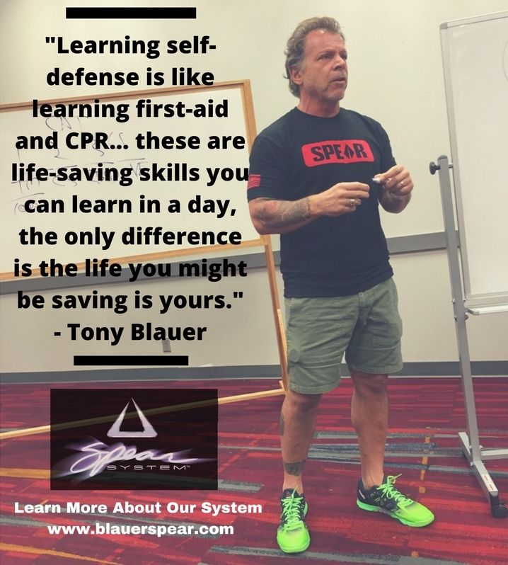 """Don't think of self-defense as a life-long martial pursuit. It can be taught very quickly."" - Tony Blauer https://t.co/uswKphRVHF"