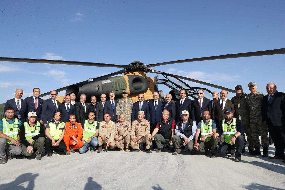 الجيش التركي يتسلم المروحية الـ20 محلية الصنع نوع T129 ATAK  C8_y-IHXgAAZ568
