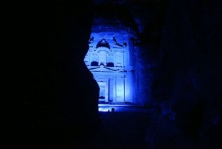In honoring @UN World Autism Awareness Day, #Petra #Jordan join the #world to help raise public awareness in #lightitupblue #waad2017 #amena