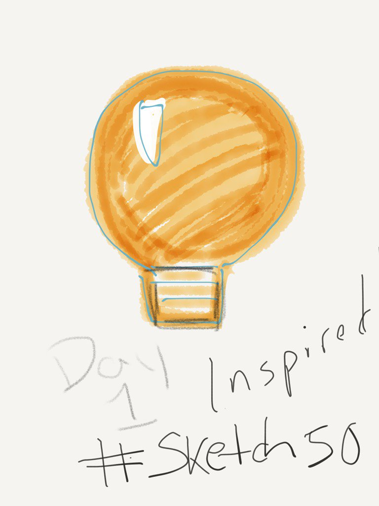 Day 1 #sketch50 try the challenge #madewithpaper / https://t.co/RJADiw7oX2 https://t.co/tPXMZ7VJKG