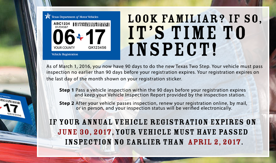 Texas Car Inspection >> Txdmv A Twitter If Your Annual Vehicle Registration