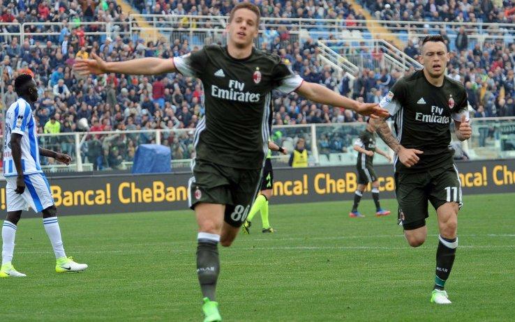 Pescara Milan Streaming: 1-1 con imbarazzante Paletta-Donnarumma