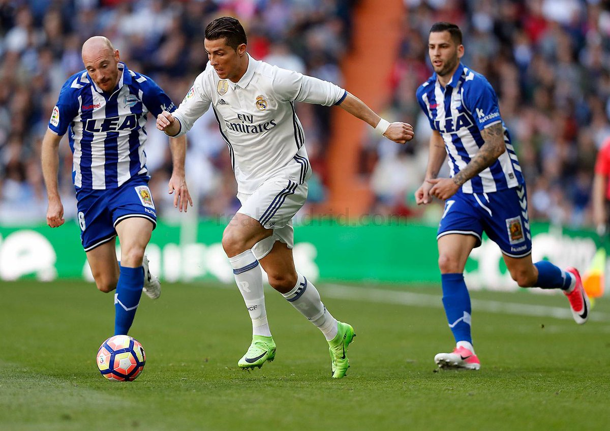 SpanishLa Liga: Madrid Consolidate first place with Win over Deportivo Alaves