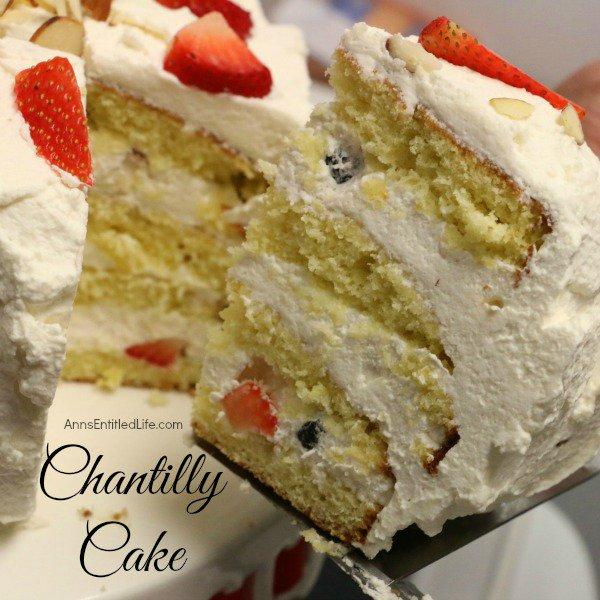Chantilly Cake Recipe