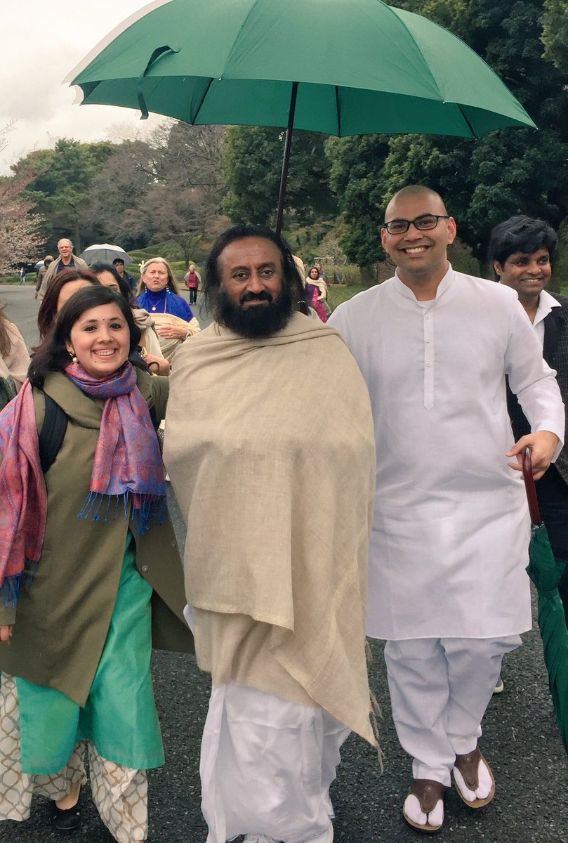 dr sandhya sinha sinhasandhya twitter ashish paliwal sri sri ravi shankar art of living and 2 others