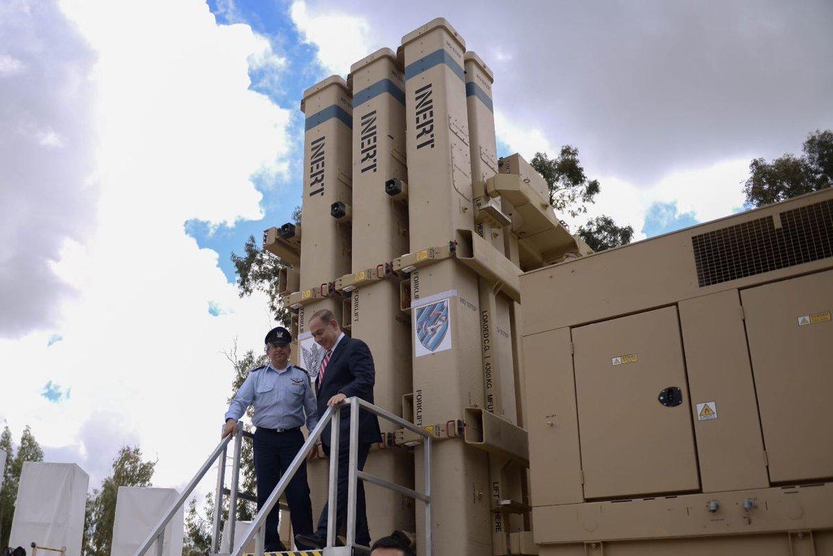 """سلاح الجو الإسرائيلي يشرع بتسلّم منظومة """"مقلاع داود"""" C8bAPWOWsAAq9pK"""