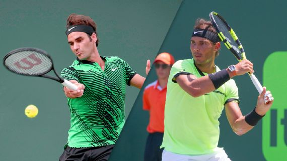 Rojadirecta NADAL FEDERER Streaming gratis: vedere Diretta Tennis Miami con Video YouTube Facebook