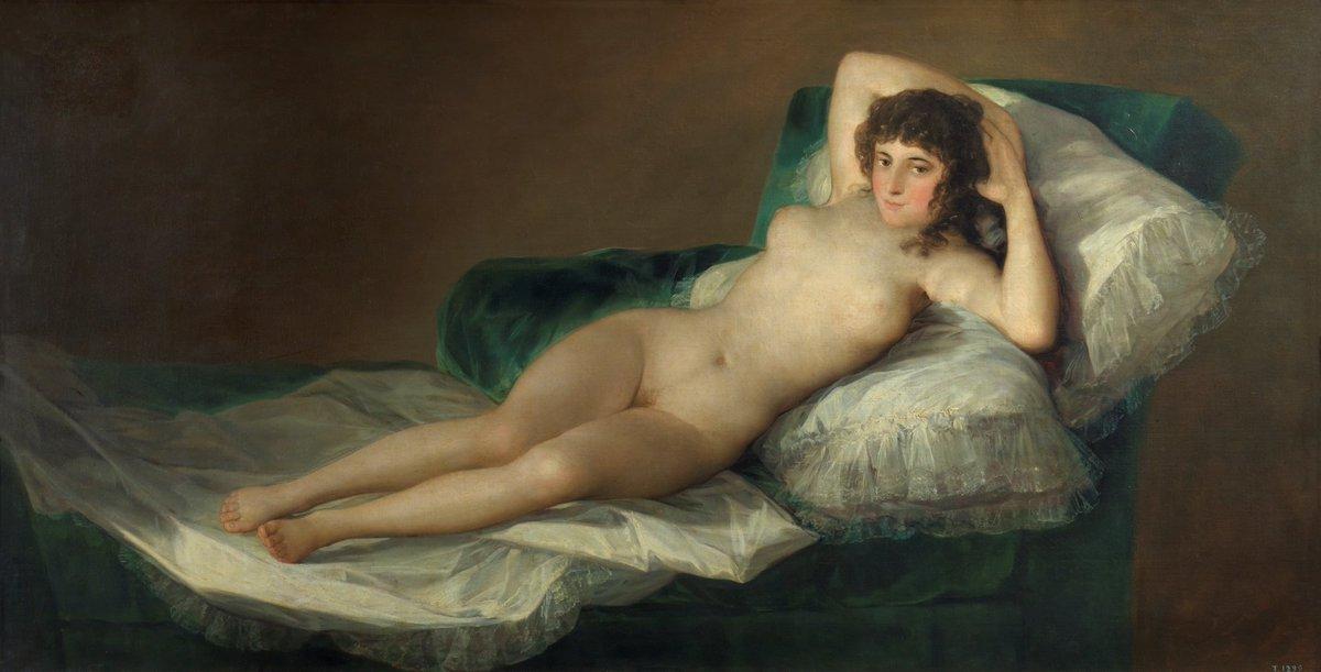 Miquel Del Pozo Puig On Twitter Es Esta La Primera Mujer Desnuda