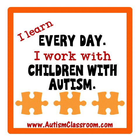 Today is #WorldAutismAwarenessDay.  Share some insight, share some good will. I learn every day... #autism https://t.co/aLP84HvE7k