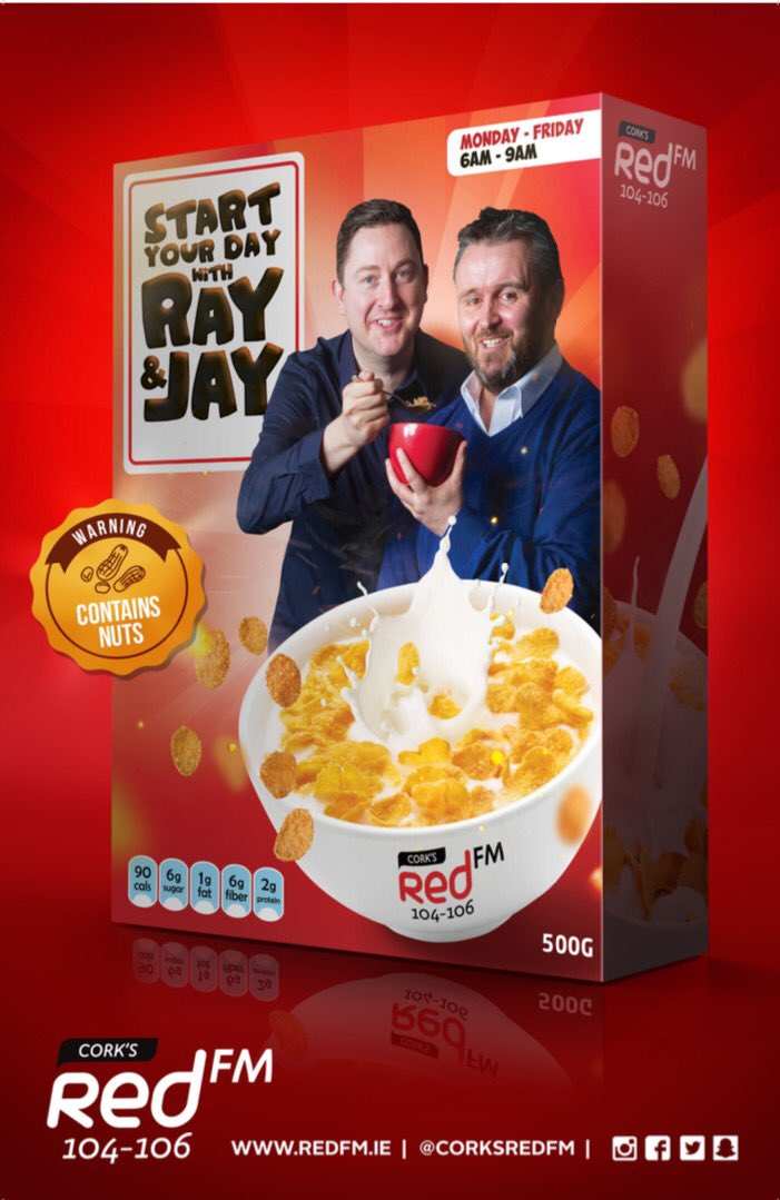 Corks redfm on twitter breakfast with ray jay begins tomorrow corks redfm on twitter breakfast with ray jay begins tomorrow morning at 6am they have a chance for you to win a meet greet with edsheeran m4hsunfo Image collections