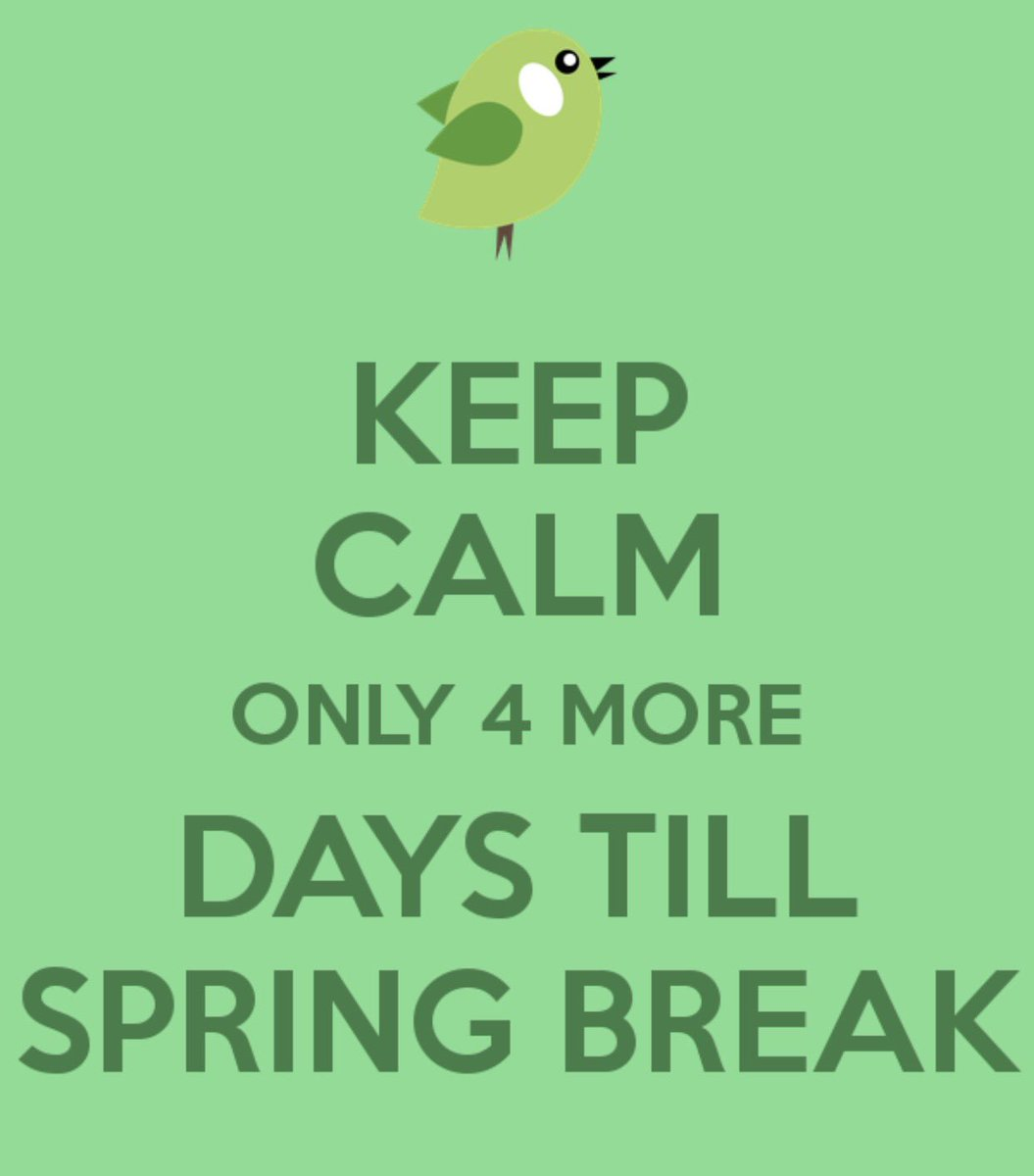 """principal abney on twitter: """"we can do this! 4 days until spring"""