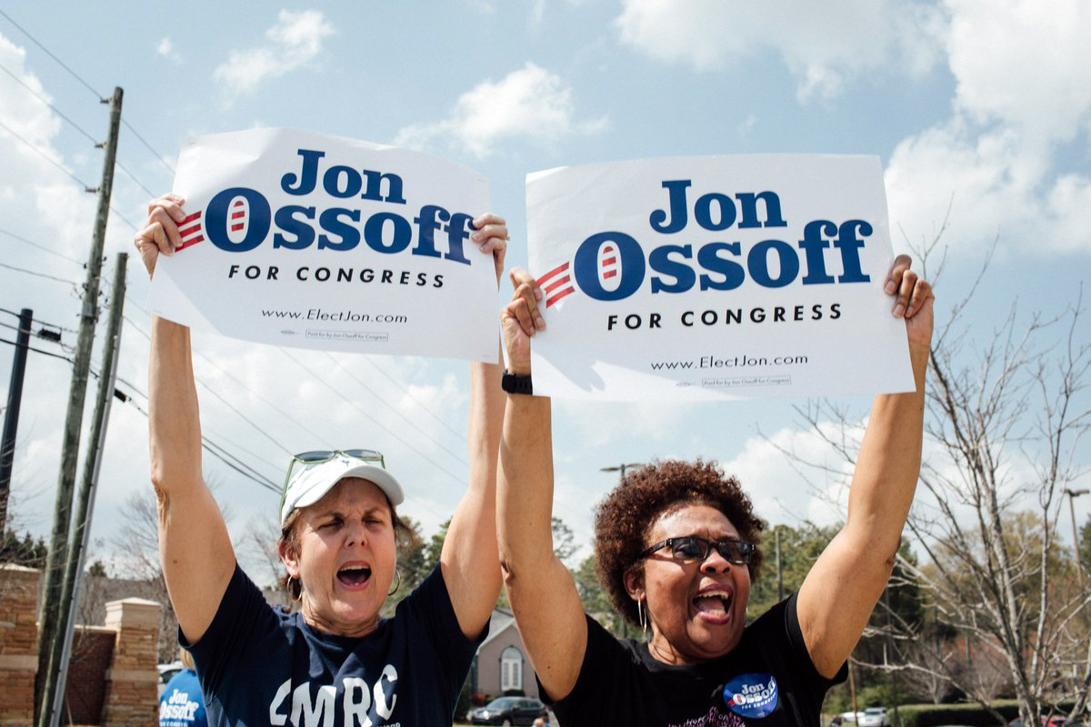 Image result for early voting jon ossoff images