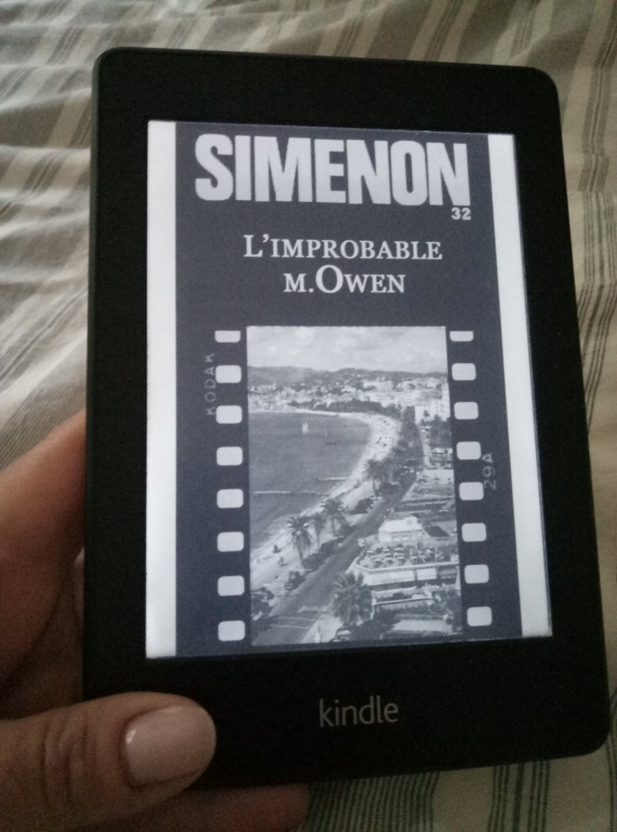 #Simenon #limprobablemOwen  .With #Maigret before a new ️#book #ebook #Reading  #read #lire  #kindle<br>http://pic.twitter.com/cK8OxABEyi