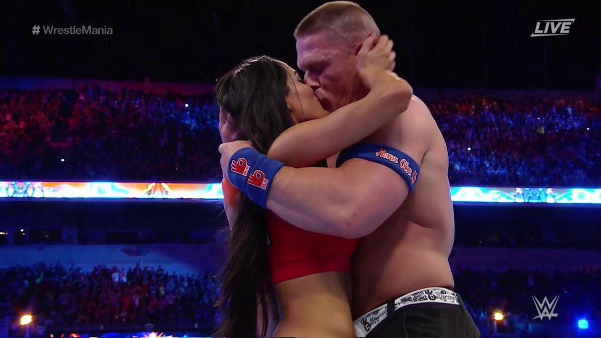 Wwe Kiss John Cena