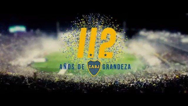 ¡Feliz cumpleaños, Boca Juniors querido!