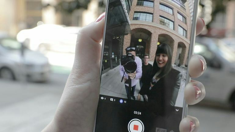 You can live-stream 360 video on Facebook. Here's how