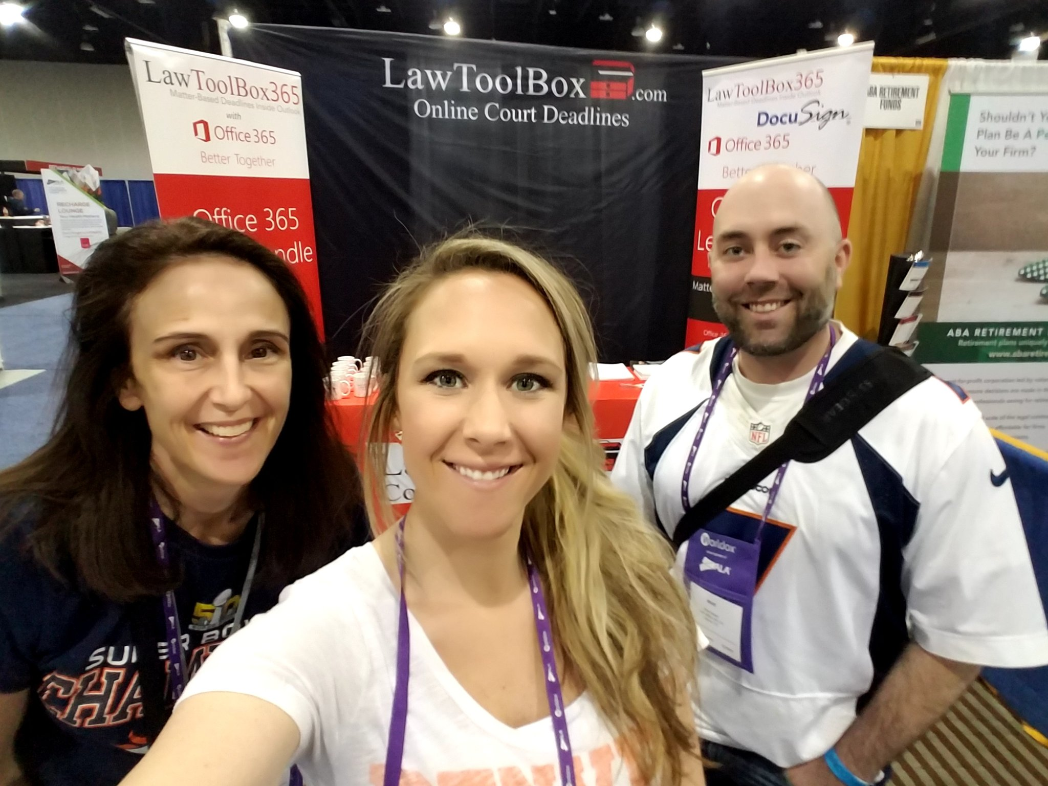 The LawToolBox crew has arrived to #ALAConf17 !!! Stop by both 831 to learn about our awesome LawToolBox365 app! https://t.co/4QHkrjFKep