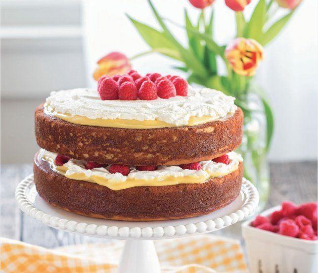 Gluten-Free Lemon Curd Cake