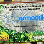 We are proud sponsors of the Armadillos @ParadiseWLPark  https://t.co/5iPbK27ERI