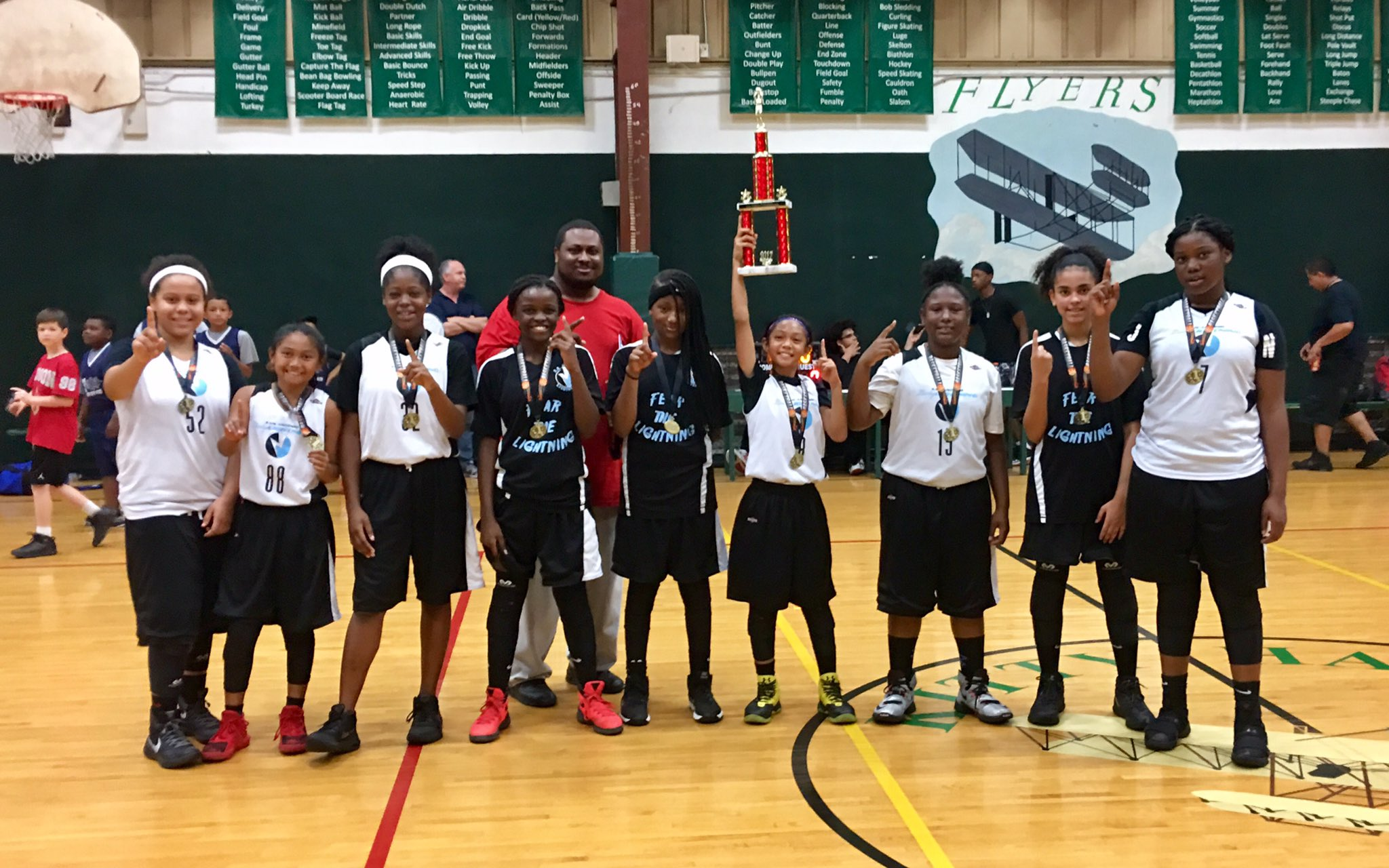 Ferdinand Ajel on Twitter  Kalea u0026 Noeu0027s SA Lightning team won their AAU Basketball League Ch&ionship!? ???? Awesome Job Ladies!!!  sc 1 st  Twitter : sa lightning basketball - azcodes.com