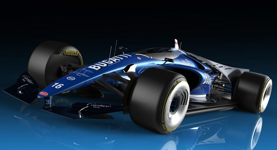 TechEBlog On Twitter Bugatti F1 Car Has Closed Canopy Design