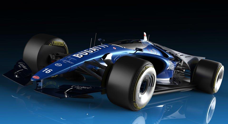 TechEBlog On Twitter Bugatti F1 Car Has Closed Canopy Design