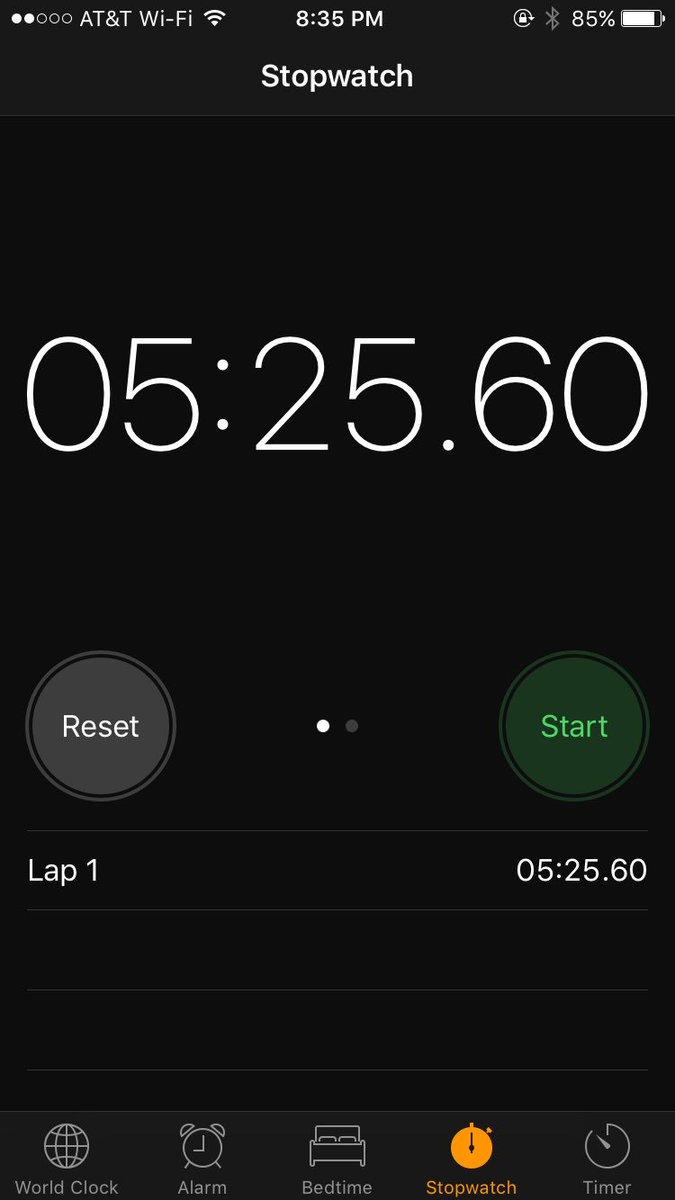 Even cheating, Undertaker's entrance was longer than Brock vs. Goldberg #WrestleMania https://t.co/2YLJbP79W5