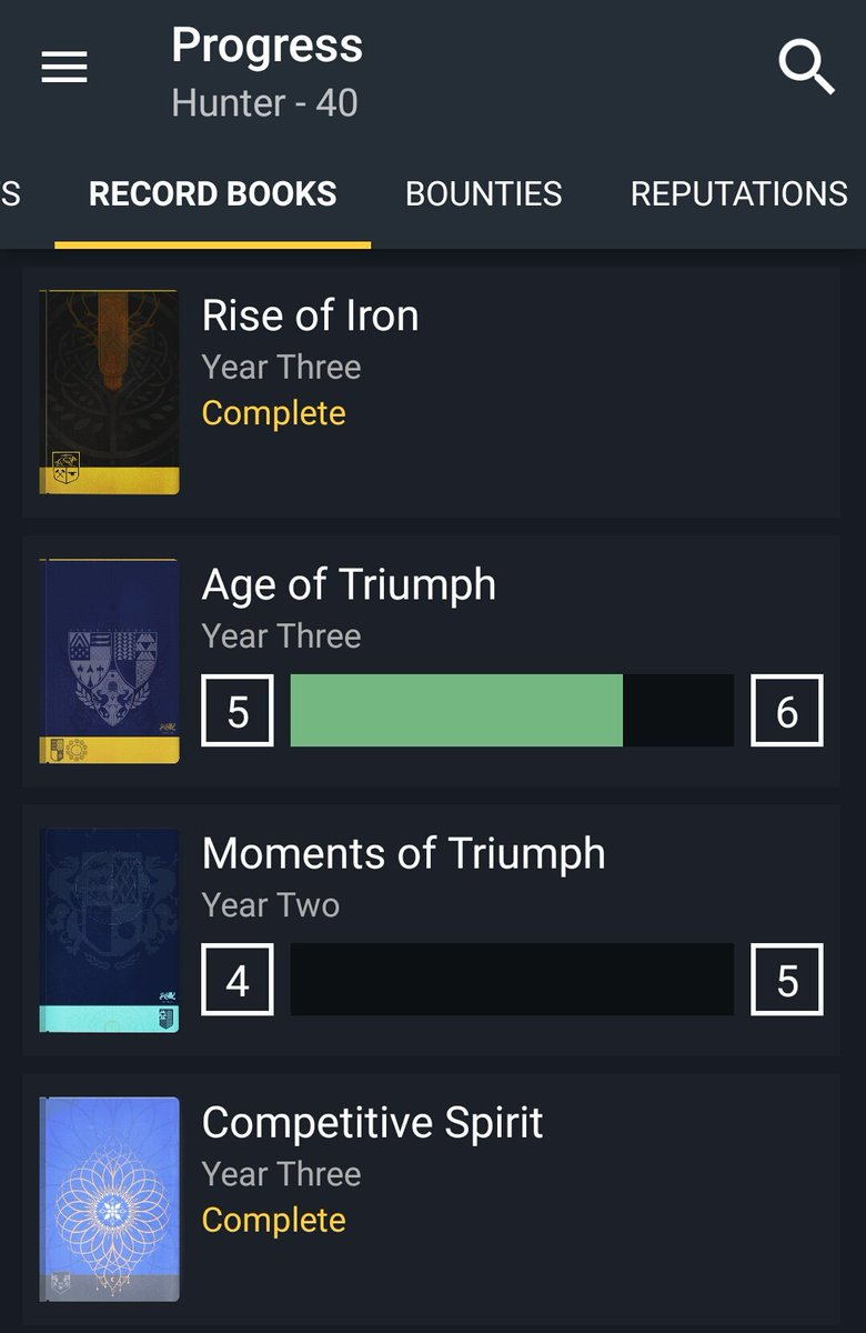 """bungie informer on twitter: """"due date for your age of triumph"""
