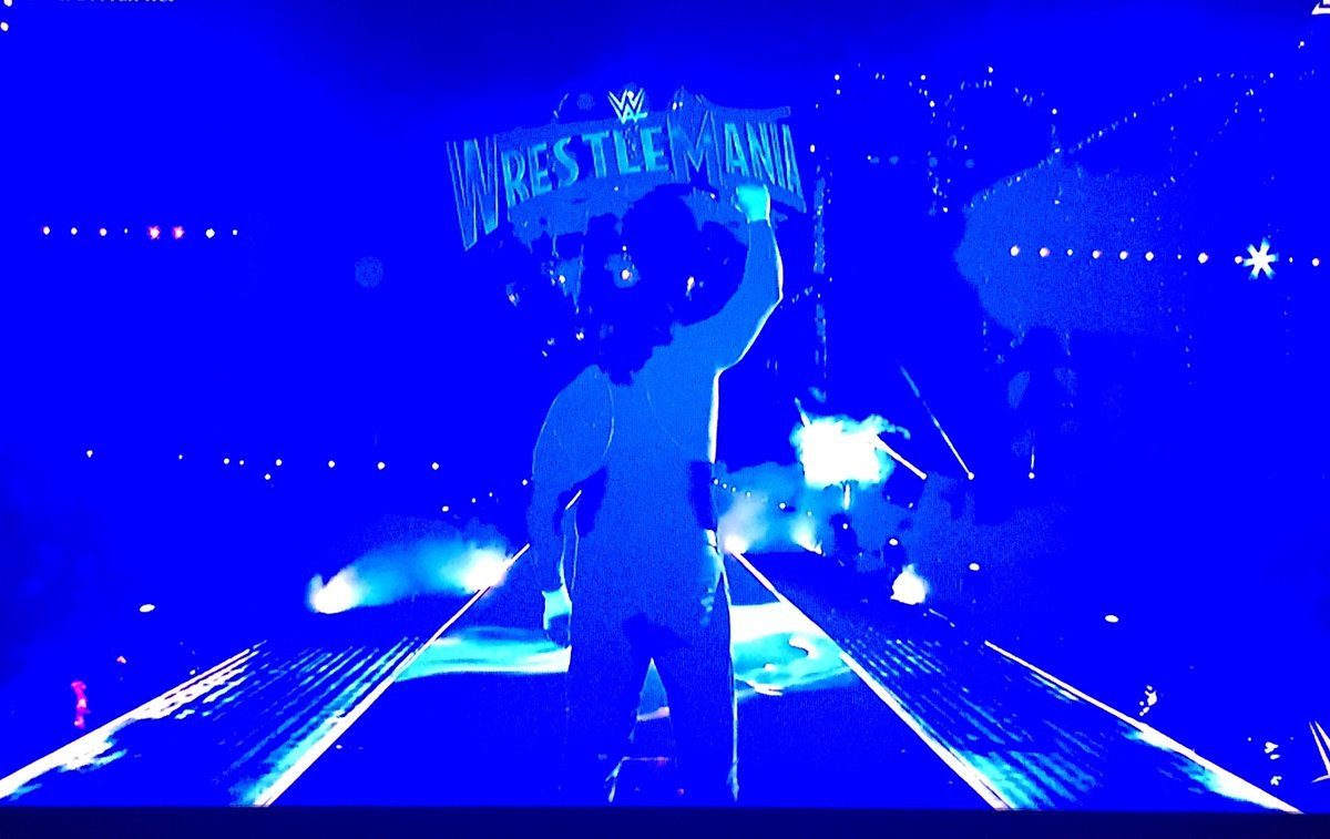 #ThankYouUndertaker - my life has been so much better for having known you. #Wrestlemania