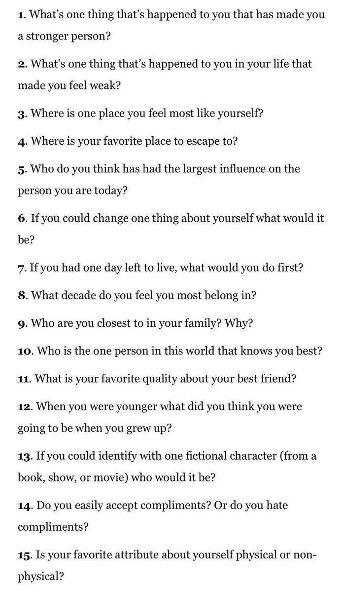 Things to ask a girl in 21 questions