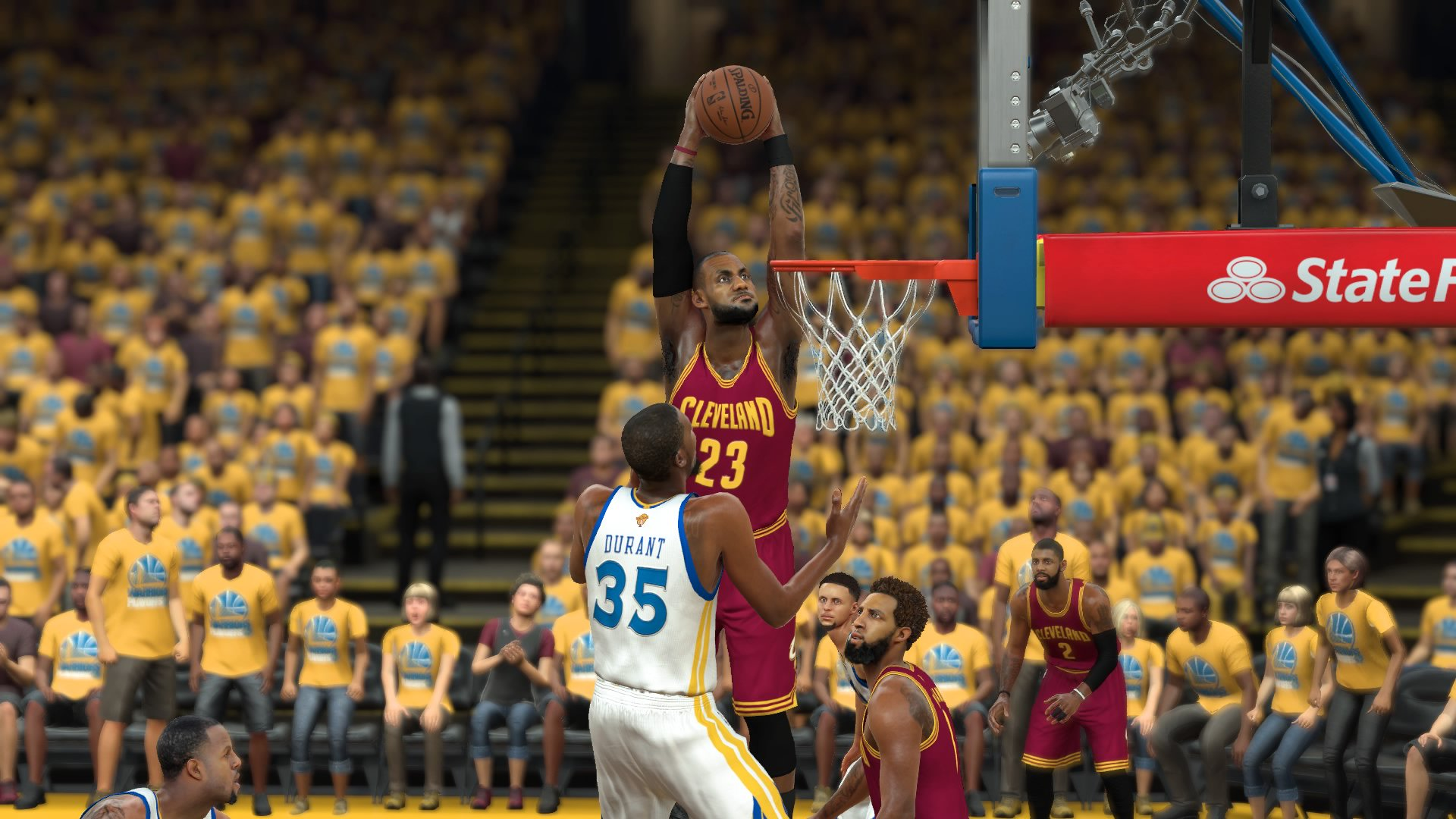 Miami heat lebron jamess vs golden state warriors nba2k17 miami - Cavs Top Warriors 138 131 To Stay Alive Oakland Calif Booed Every Time He Touched The Ball Lebron James Cut Through Golden State S Defense And Made