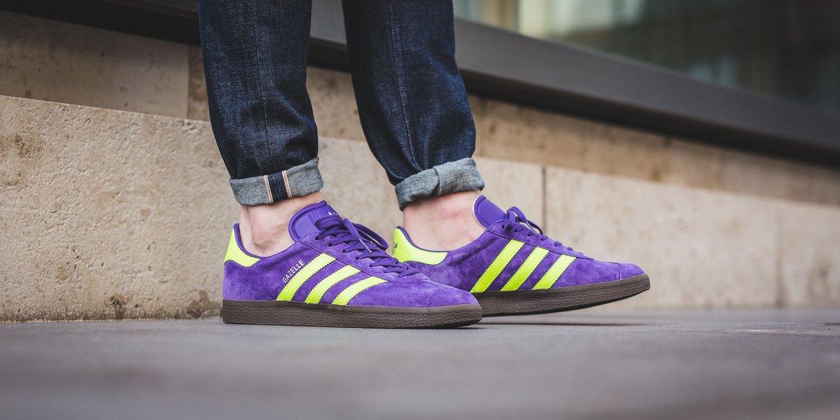 adidas gazelle unity purple