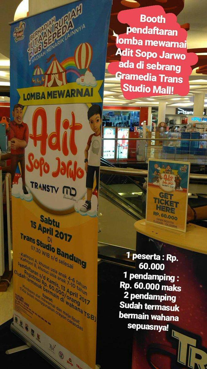 Trans Studio Bandung On Twitter Ayo Daftar Lomba Mewarnai Adit