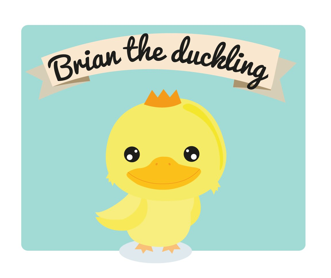 And... this is Brian the Duckling. Stay tuned for Jessie and Brian&#39;s upcoming adventures!  #languagelearning #learnenglish #englishidioms <br>http://pic.twitter.com/JiRCXK2n3w
