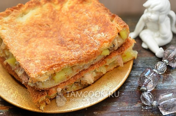 Рецепт пироги с мясом с фото