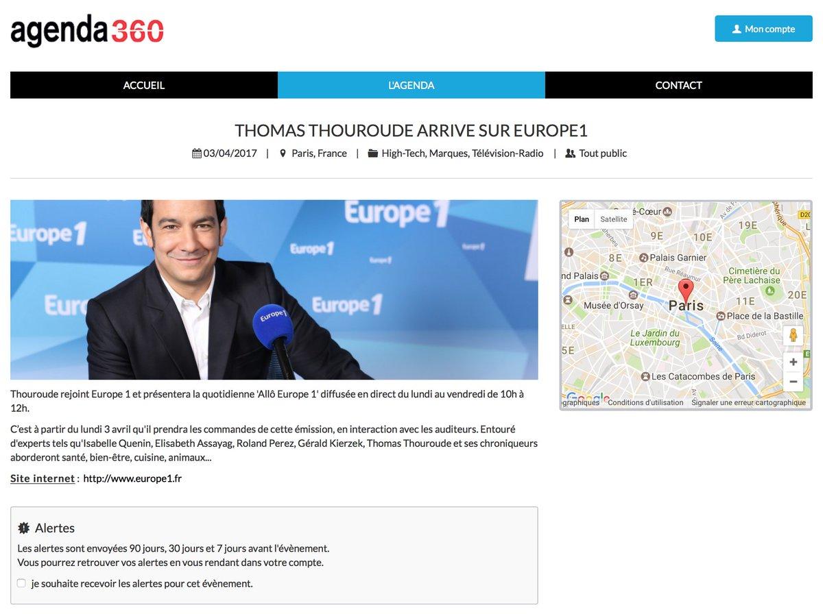Thomas Thouroude arrive sur Europe1 @ThomasThouroude @TVMag @LesIndesRadios #medias #Europe1 #radios<br>http://pic.twitter.com/M3YYDQzmeW