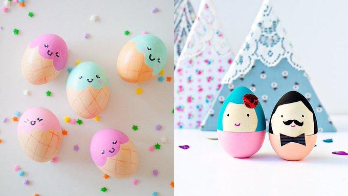 9 DIY pour décorer vos oeufs de Paques