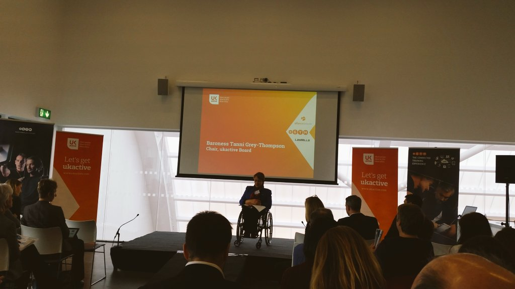 .@Tanni_GT talking inactivity levels and the need for urgent action on physical activity @_ukactive #PromisingPractice https://t.co/DrDPEaz46K