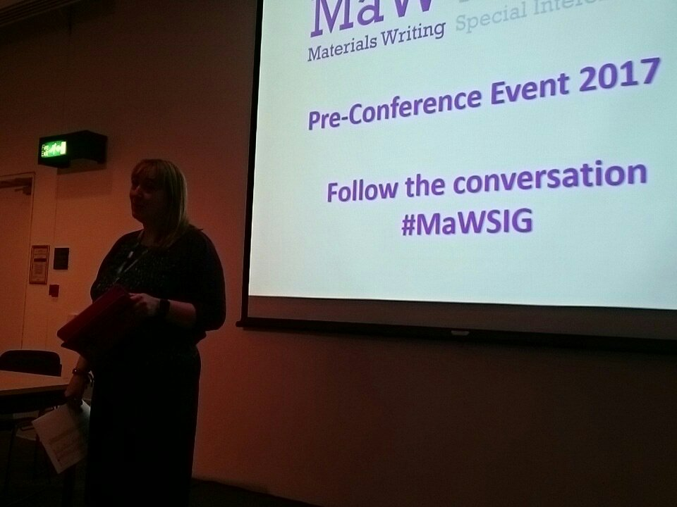 Introductions from our @MaWSIG  Coordinator @teflerinha - let the tweeting begin! #mawsig https://t.co/7Npo3TGMsD