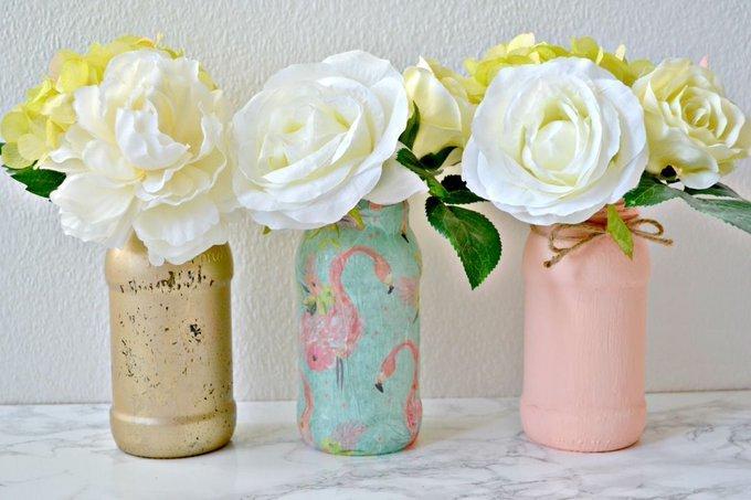 Upcycle jars: three simple DIY ideas