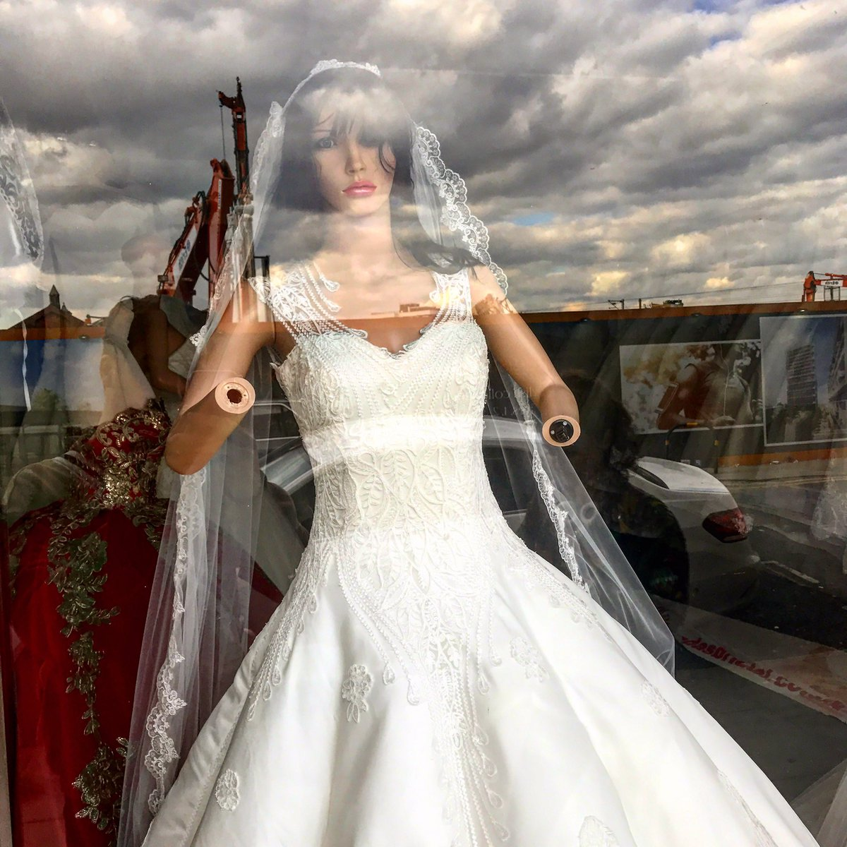 David Mumeni On Twitter Anyone Looking For A Wedding Dress Theres This Shop In Finsbury Park Which Is Sporting Fantastic Window Display