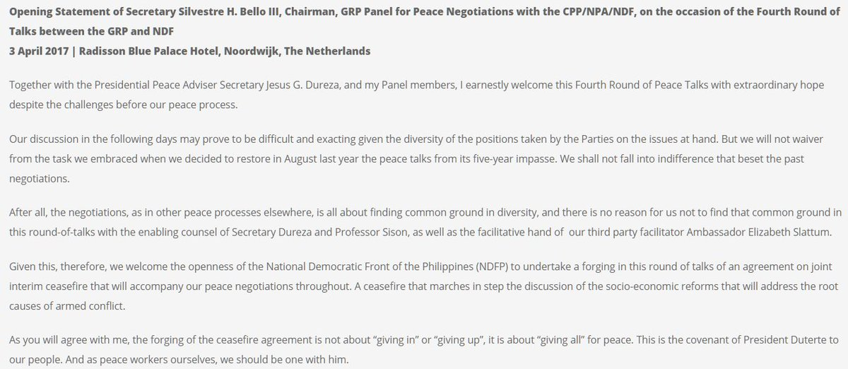Opapp on twitter sec bello the forging of the ceasefire bello the forging of the ceasefire agreement is about giving all for peace read full statement here httpstgm6i5mbaoo httpstyobemoqy8c platinumwayz