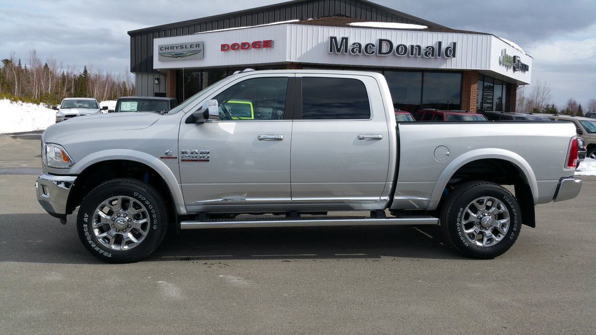 macdonald chrysler on twitter 2017 ram 2500 laramie. Black Bedroom Furniture Sets. Home Design Ideas