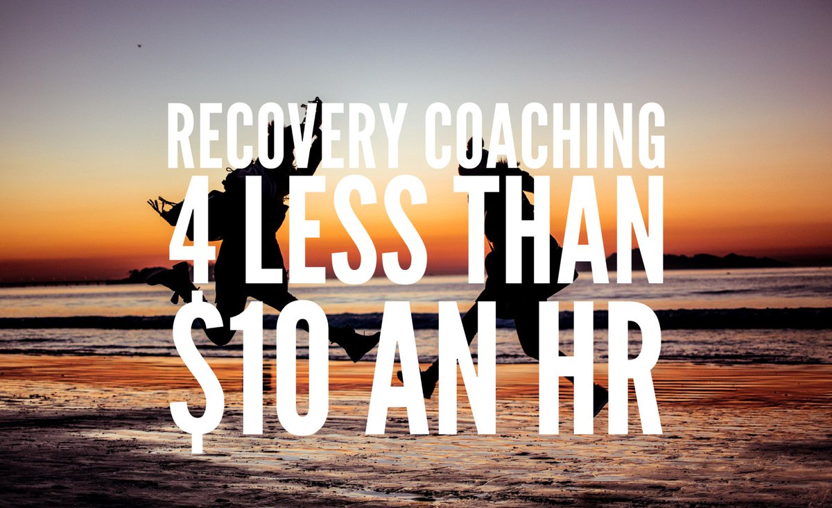 #Recovery coaching 4 less thn $10/hr  http:// ow.ly/9Dh0309y9Wn  &nbsp;   #loveaddict Program open 4 those in Recovery <br>http://pic.twitter.com/59cXCA4MMV