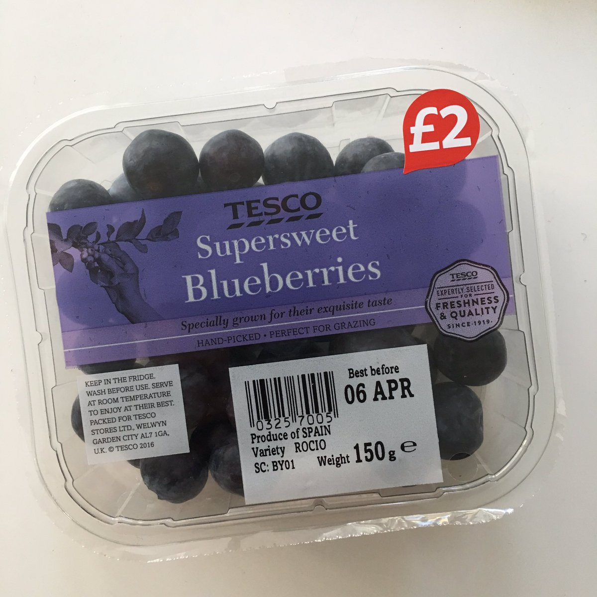 Chris White On Twitter Bargain Theses Blueberries At
