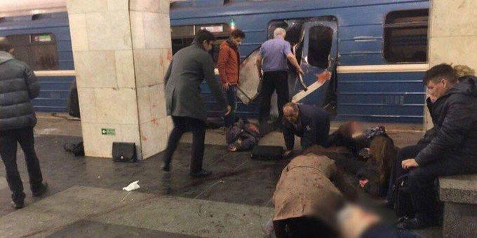 У метро Санкт-Петербурга пролунало кілька вибухів: 10 загиблих, - ЗМІ 03