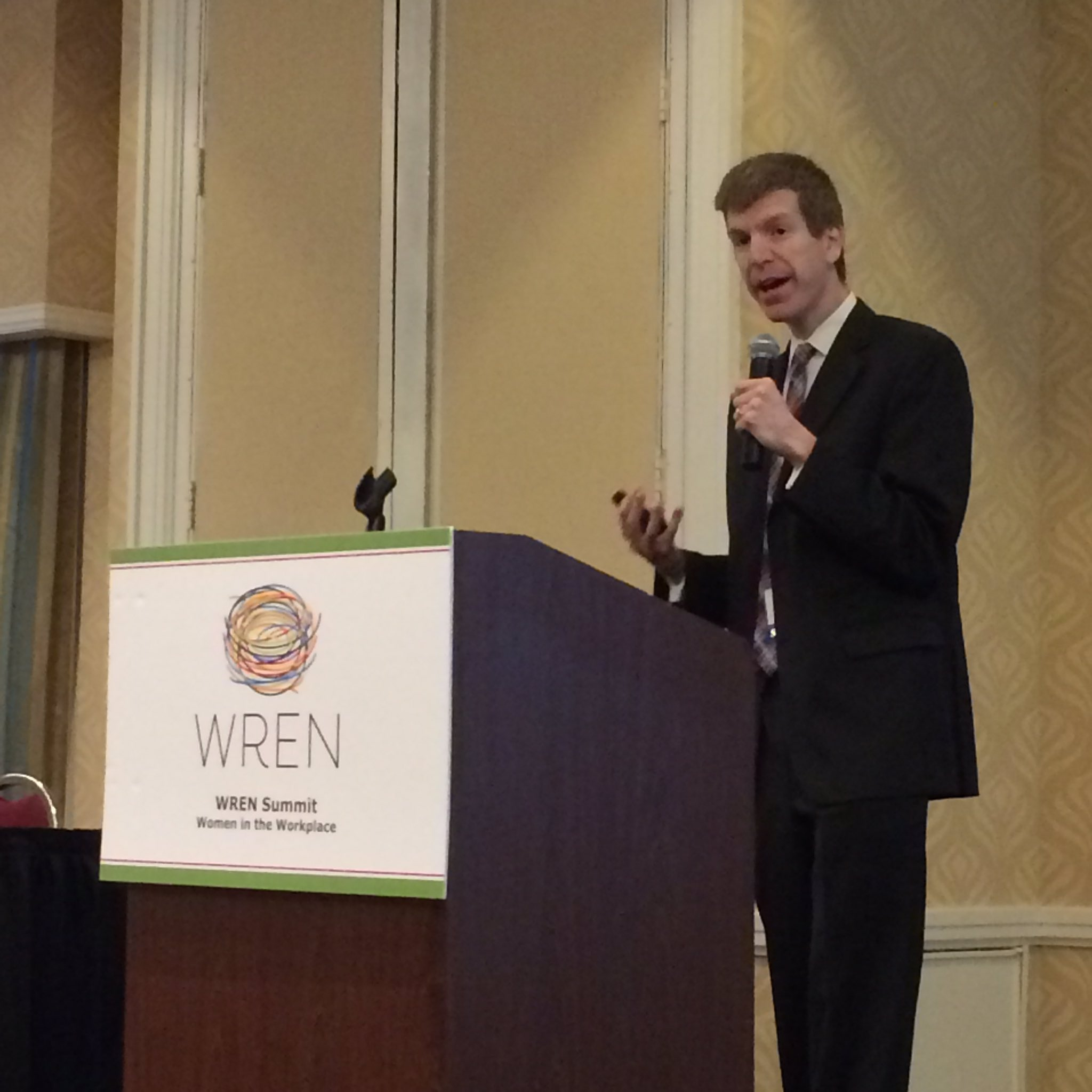 USC economist Dr. Joseph Von Nessen: data show #women of SC more highly educated than men, yet workforce participation, pay lags #WRENSummit https://t.co/MhiliE3omt