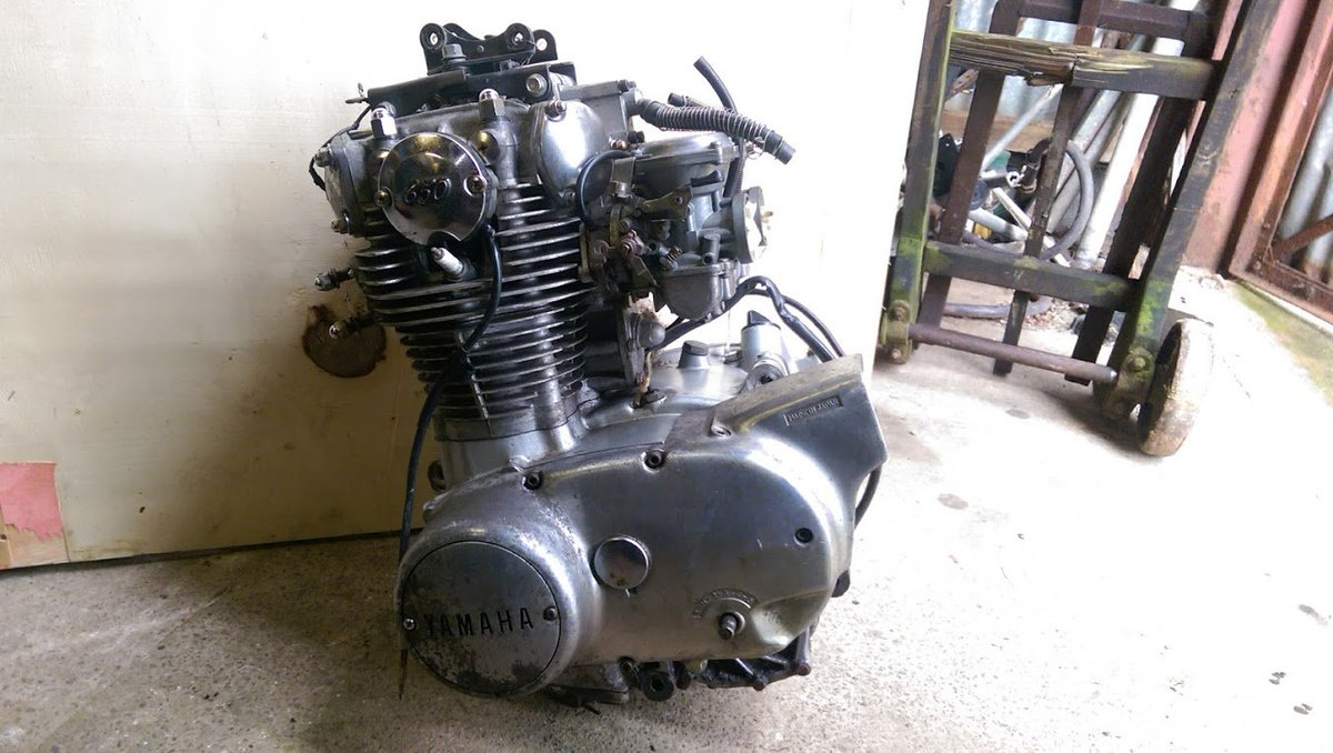 Burton Bike Bits On Twitter Yamaha Xs650 Engine For Sale
