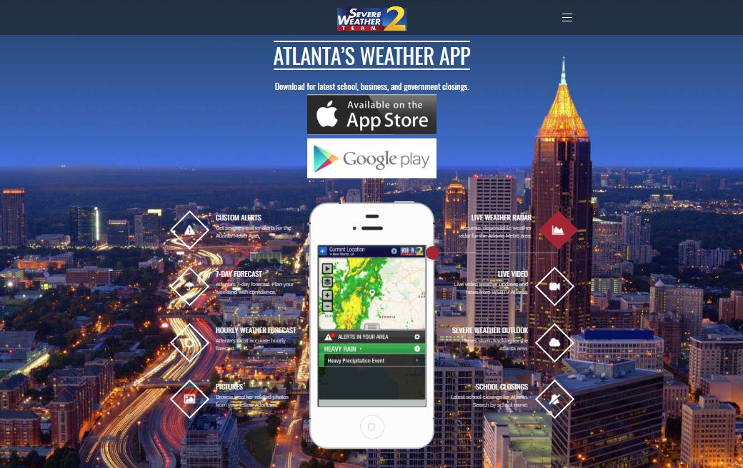 Severe Weather Team: Get custom alerts, hourly weather
