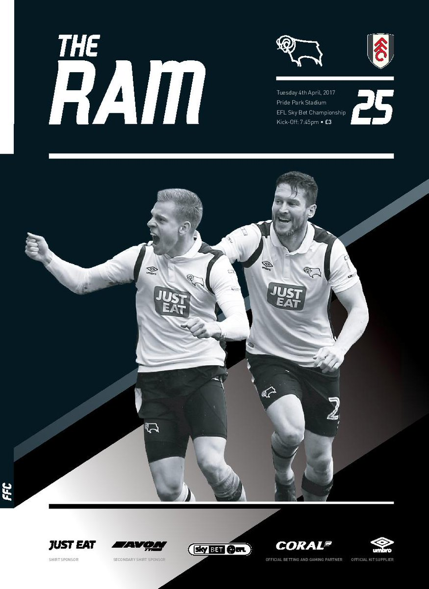 Derby County On Twitter The Ram The Dcfcvffc Edition Of